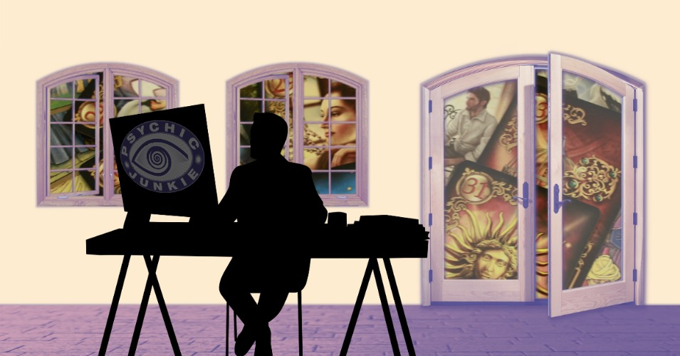 How to Work at Home Reading Tarot